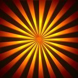 Sun rays illustration Stock Images