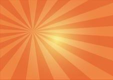 Sun rays illustration Stock Image