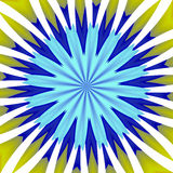 Sun rays like abstract background. Sun rays like image in yellow, blue and white hues and colors. Abstract texture and design vector illustration