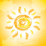 Sun Rays Shows Summer Time And Sunrays Royalty Free Stock Photo