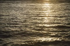 Sun reflected on water. Stock Photography