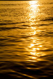 Sun reflected in water Royalty Free Stock Photography