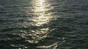 Sun Reflection on Ocean stock footage