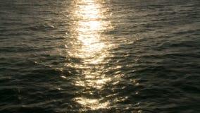 Sun Reflection on Ocean stock video