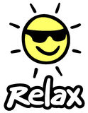 Sun relax Royalty Free Stock Photography