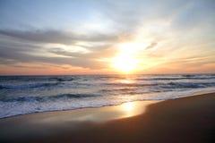 The sun rise Stock Image
