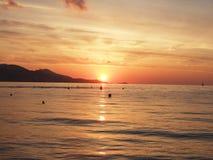 Sun rise. Su Rise over sea stock images