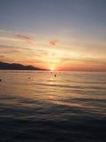 Sun rise. Majorca stock photo