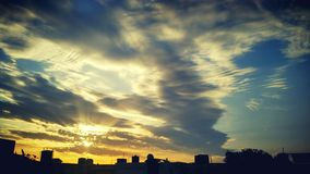 Sun rise Royalty Free Stock Image