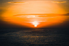 Sun rise Kanyakumari Royalty Free Stock Photos