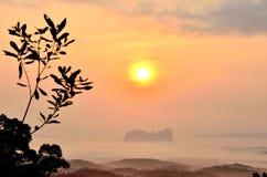 Sun rise Royalty Free Stock Photo