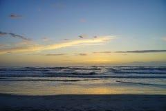 Jacksonville beach sun rise Stock Photo
