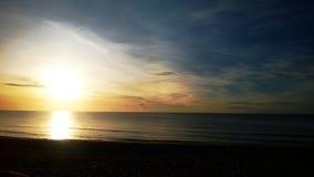 sun rises at huahin Thailand Stock Photography