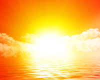 Sun rising Royalty Free Stock Image