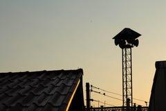 The sun rising Stock Photos