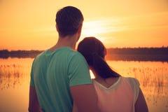 Sun romántico Imagen de archivo
