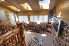 Sun room. The living, TV room, or sun room in a nice home Royalty Free Stock Photo