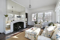 Sun room with mirrors