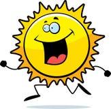 Sun Running Stock Photography