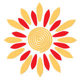 Sun - russian symbol holiday spring Shrovetide Royalty Free Stock Photography