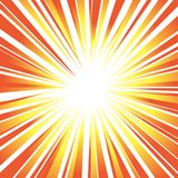 Sun`s orange rays or explosion background for design speed, move. Sun`s rays or explosion background for design speed, movement and energy Royalty Free Stock Image