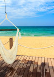 Sun sand and relaxation Stock Photography