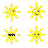 Sun-Satz Lizenzfreie Stockbilder