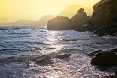 Sun and sea Stock Images