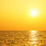 Sun and sea Royalty Free Stock Photography