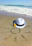Sun, sea, dream Stock Images