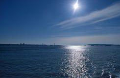 Sun and sea. Royalty Free Stock Photo