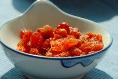 Sun secou tomates Fotos de Stock Royalty Free