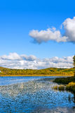 Sun See-Herbstlandschaft Stockfotos