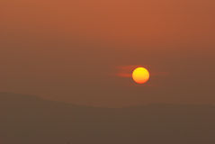 Sun set Stock Photos
