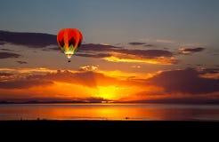 Free Sun Set At The Great Salt Lake Stock Photos - 127258963