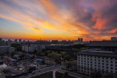 Sun Set Stock Image