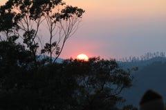 Sun set Royalty Free Stock Photos