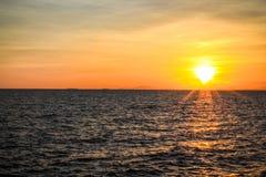 Sun set Thailand Stock Photos