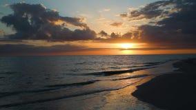 Sanibel island sunset loop - video footage