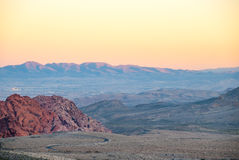 Red Rock Valley Nevada II Stock Photo