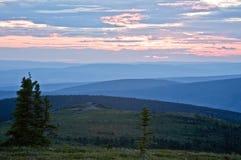 Sunset in Alaska Royalty Free Stock Photo