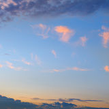 Sun sets  and sky Royalty Free Stock Image