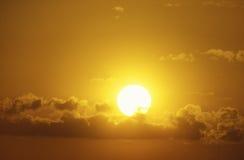 Sun Setting Stock Photos