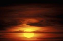 Sun Setting Stock Photo