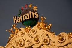 Sun Setting on Harrahs stock photo