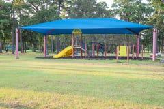 Shade structure playground Houston, Texas, USA