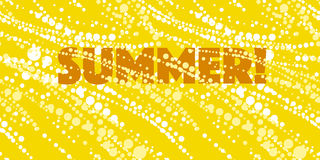 Sun shine joyful summer pattern vector illustration. Stock Photo