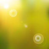 Sun shines brightly Royalty Free Stock Photography