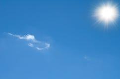 Sun shining Stock Photo