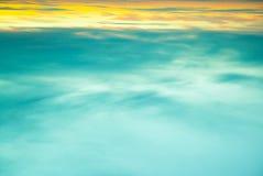 Sun shining through low cloud Royalty Free Stock Photography